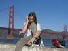 Ebba framför Golden Gate